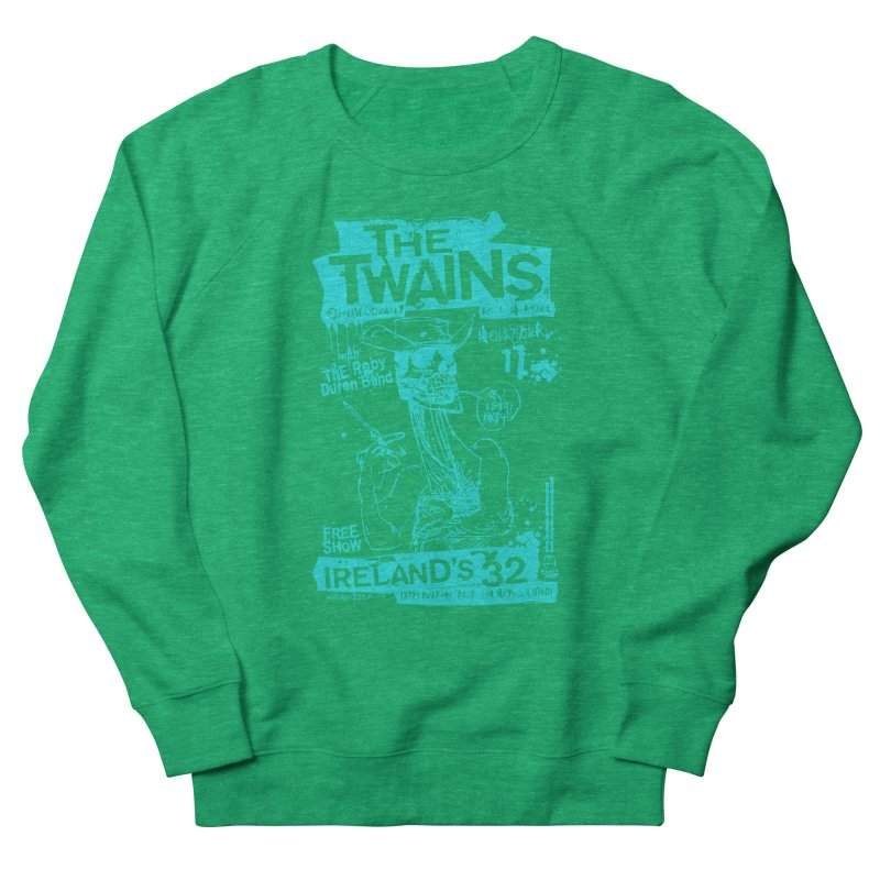 Ireland 32s Gonzo Party Two Women's Sweatshirt by The Twains' Artist Shop