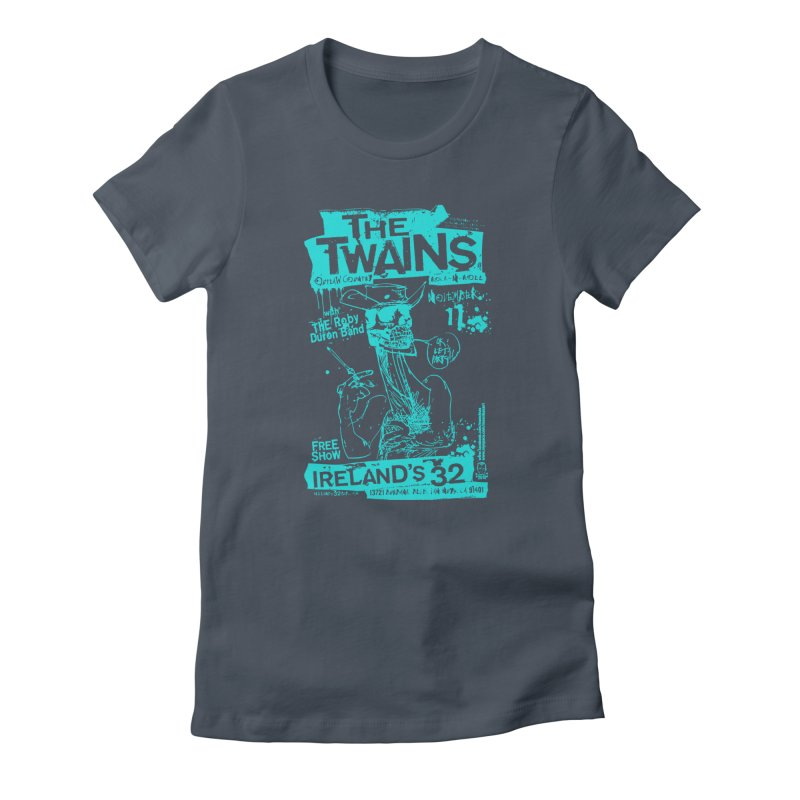Ireland 32s Gonzo Party Two Women's T-Shirt by The Twains' Artist Shop