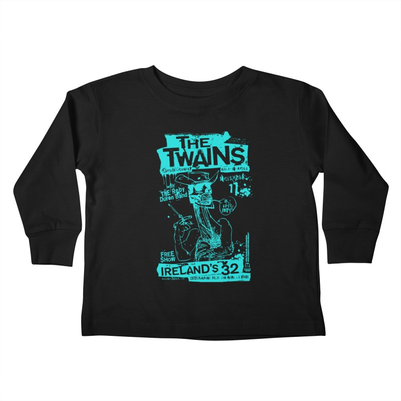 Ireland 32s Gonzo Party Two Kids Toddler Longsleeve T-Shirt by The Twains' Artist Shop