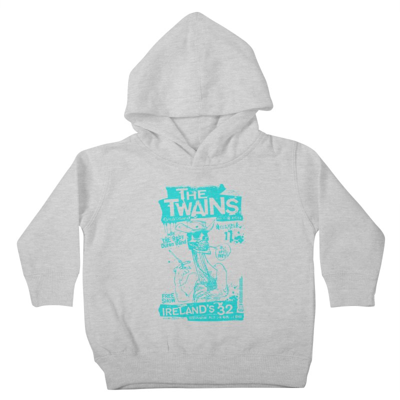 Ireland 32s Gonzo Party Two Kids Toddler Pullover Hoody by The Twains' Artist Shop