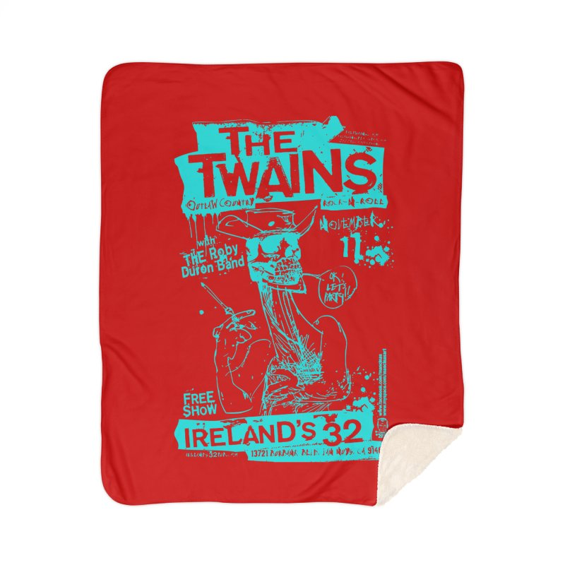 Ireland 32s Gonzo Party Two Home Blanket by The Twains' Artist Shop