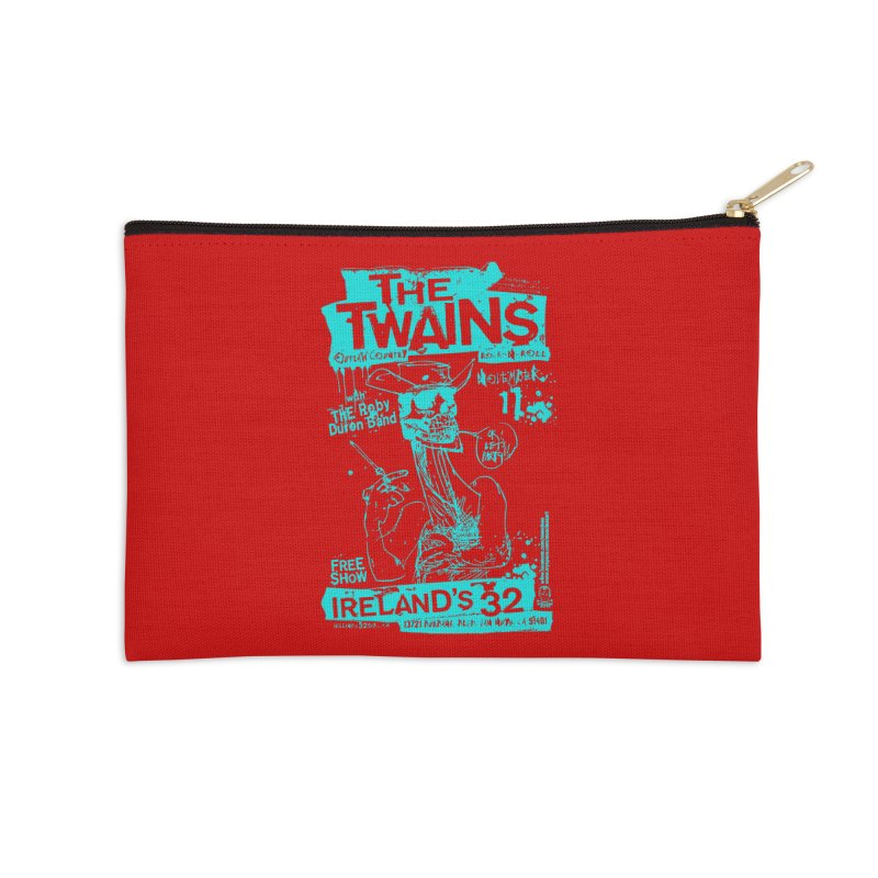 Ireland 32s Gonzo Party Two Accessories Zip Pouch by The Twains' Artist Shop