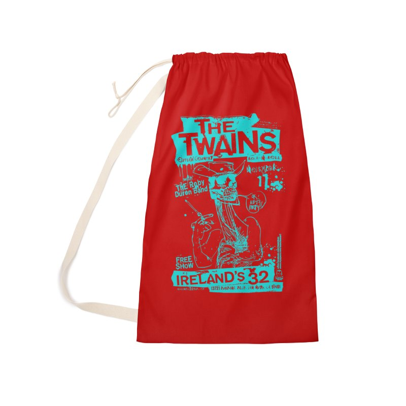 Ireland 32s Gonzo Party Two Accessories Bag by The Twains' Artist Shop