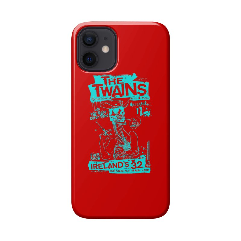 Ireland 32s Gonzo Party Two Accessories Phone Case by The Twains' Artist Shop