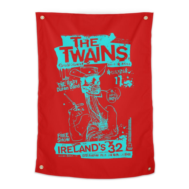 Ireland 32s Gonzo Party Two Home Tapestry by The Twains' Artist Shop
