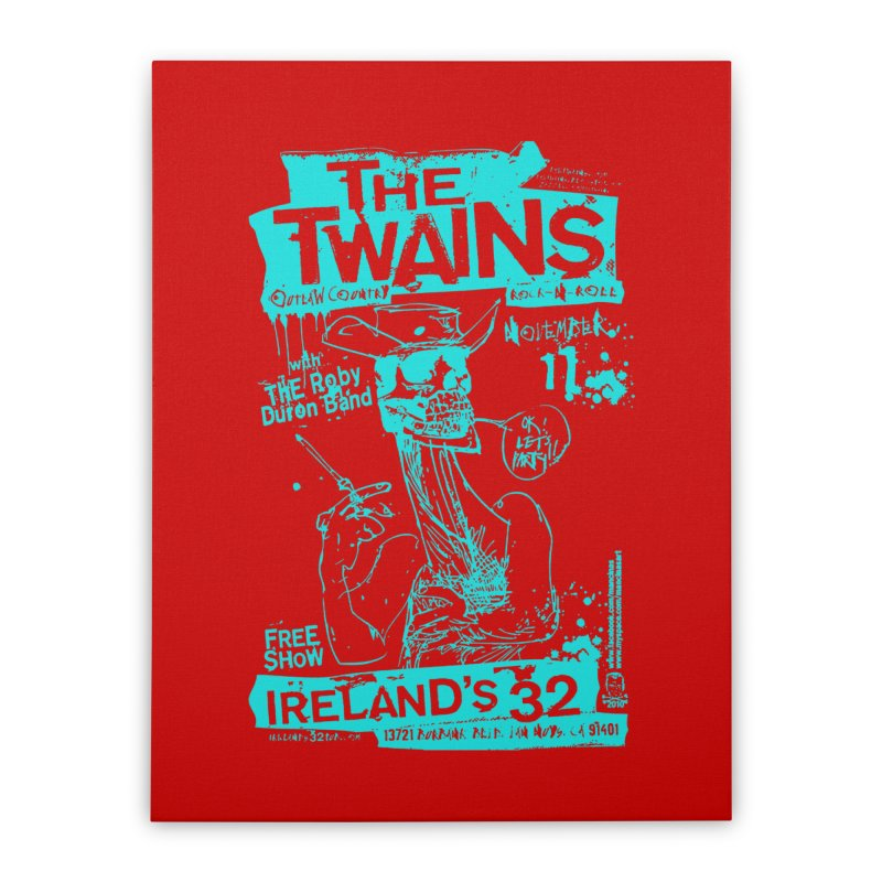 Ireland 32s Gonzo Party Two Home Stretched Canvas by The Twains' Artist Shop