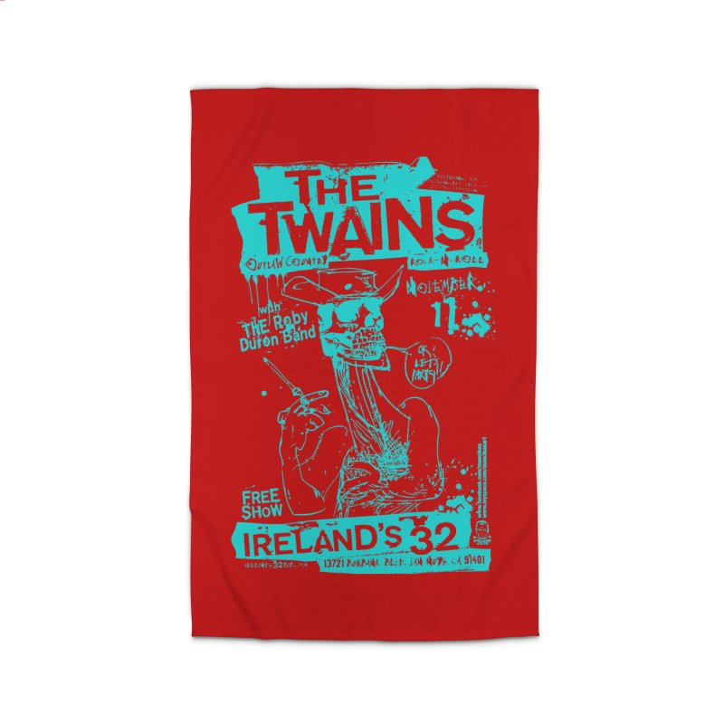Ireland 32s Gonzo Party Two Home Rug by The Twains' Artist Shop