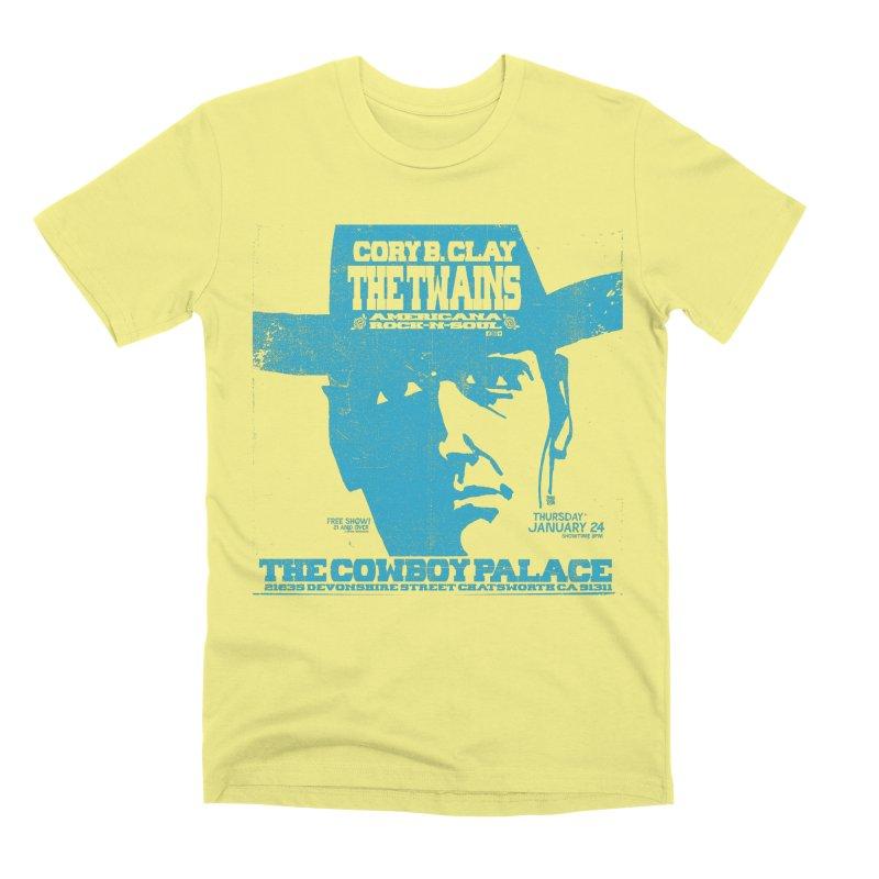 Twains Cowboy Palace Men's T-Shirt by The Twains' Artist Shop