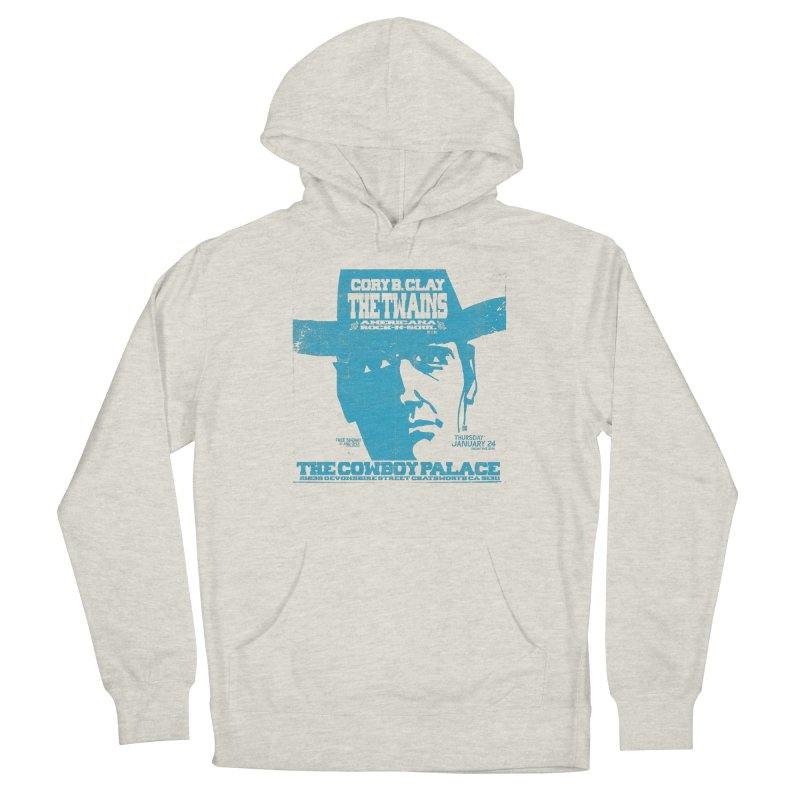 Twains Cowboy Palace Men's Pullover Hoody by The Twains' Artist Shop
