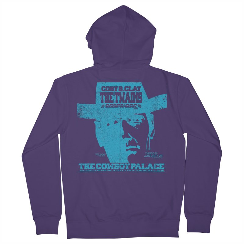Twains Cowboy Palace Women's Zip-Up Hoody by The Twains' Artist Shop