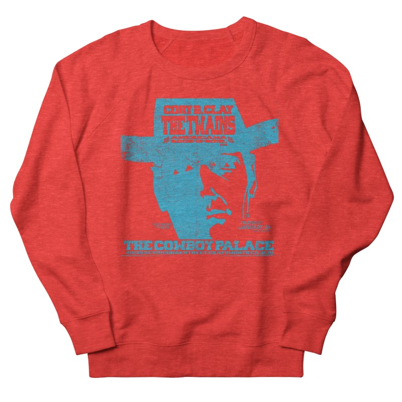 Twains Cowboy Palace Women's Sweatshirt by The Twains' Artist Shop