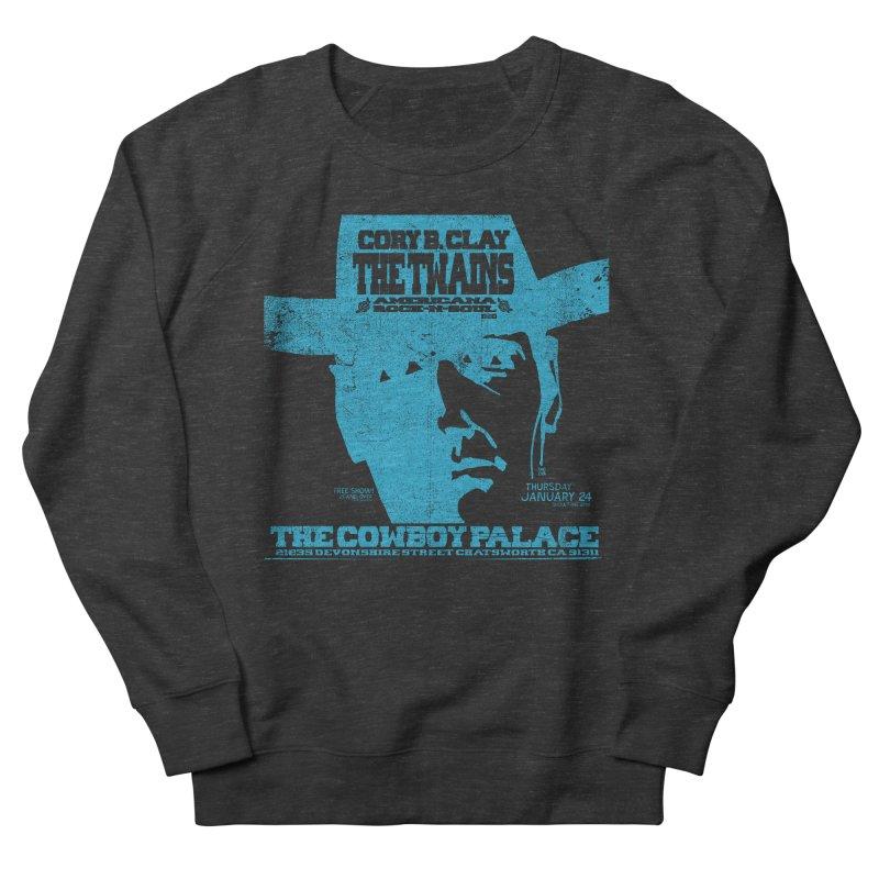 Twains Cowboy Palace Men's Sweatshirt by The Twains' Artist Shop