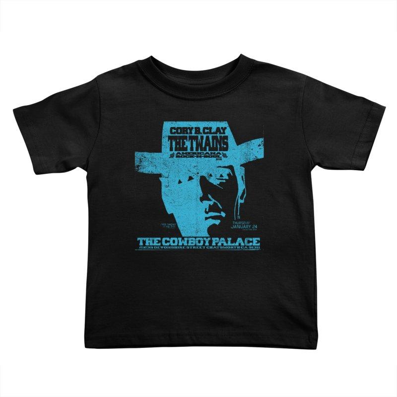 Twains Cowboy Palace Kids Toddler T-Shirt by The Twains' Artist Shop