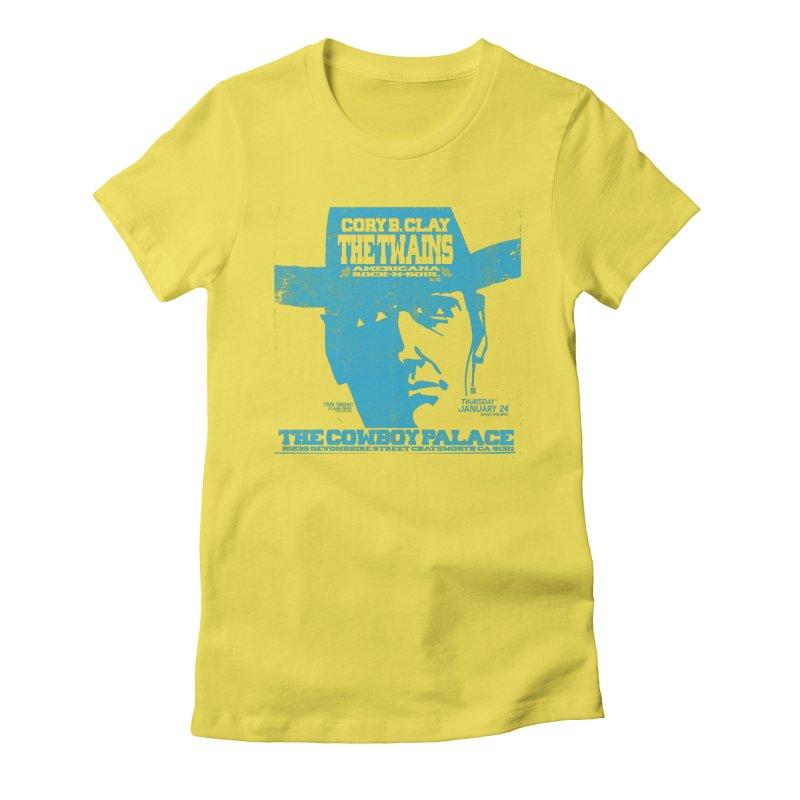 Twains Cowboy Palace Women's T-Shirt by The Twains' Artist Shop