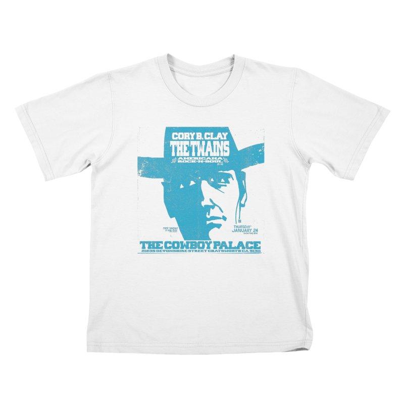 Twains Cowboy Palace Kids T-Shirt by The Twains' Artist Shop