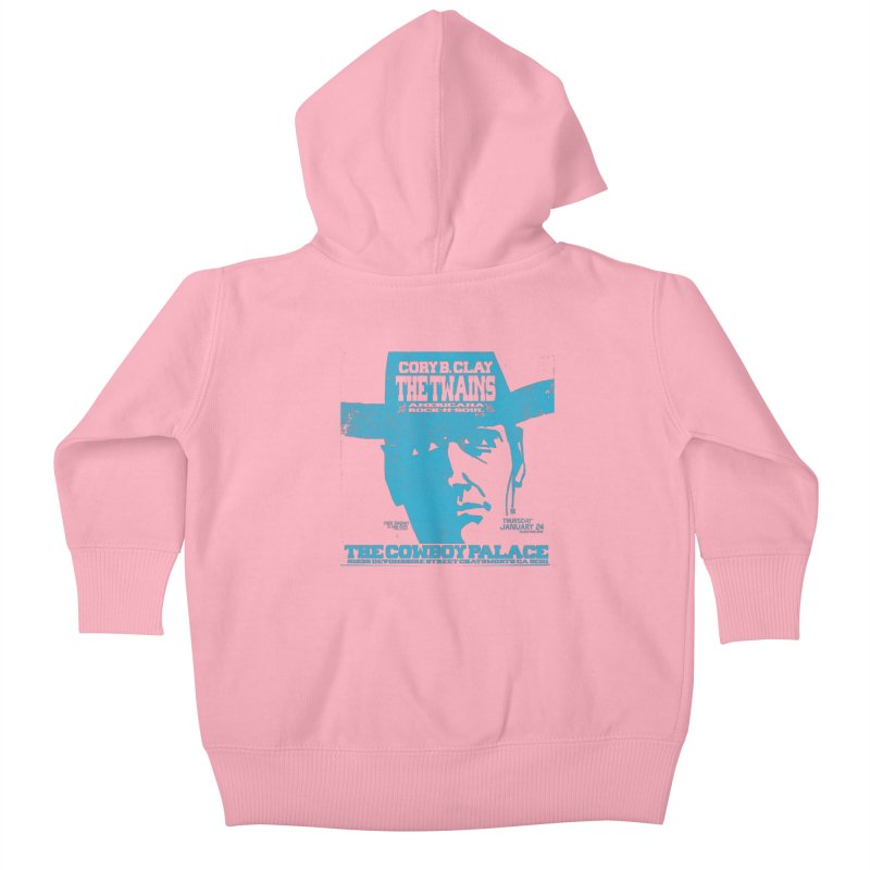 Twains Cowboy Palace Kids Baby Zip-Up Hoody by The Twains' Artist Shop