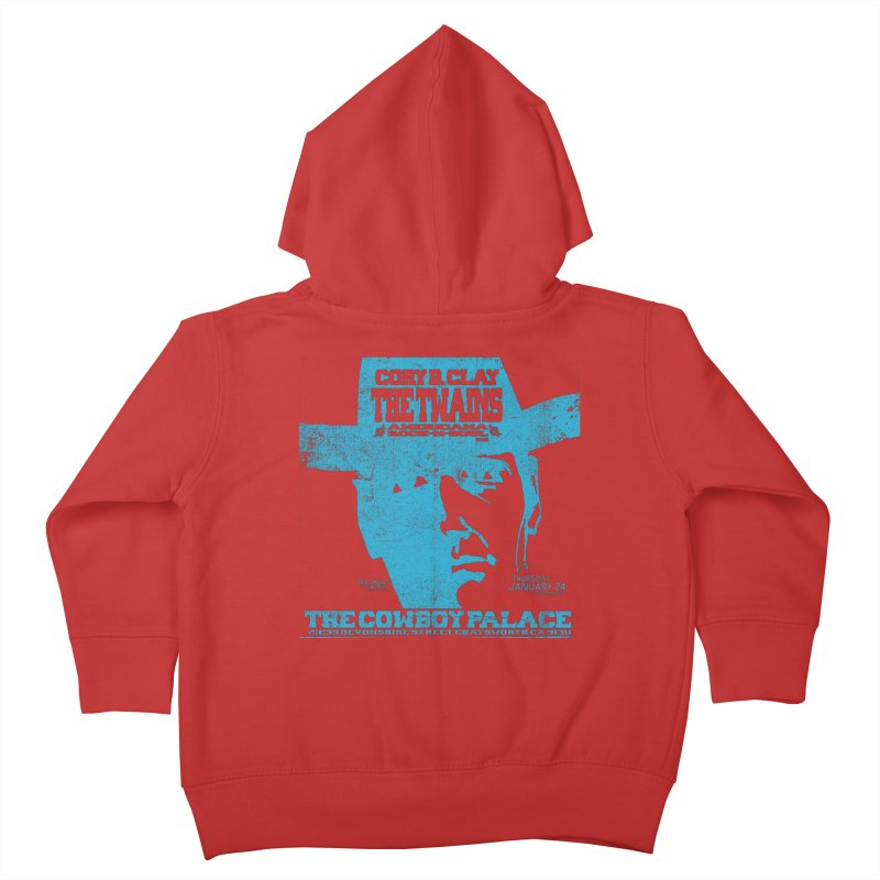 Twains Cowboy Palace Kids Toddler Zip-Up Hoody by The Twains' Artist Shop