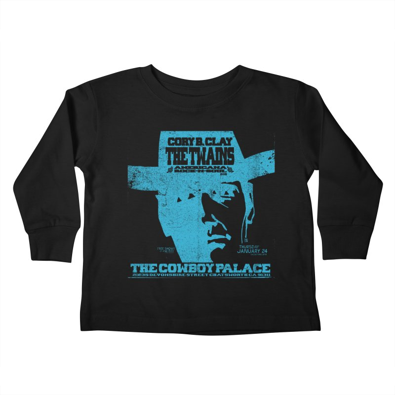 Twains Cowboy Palace Kids Toddler Longsleeve T-Shirt by The Twains' Artist Shop