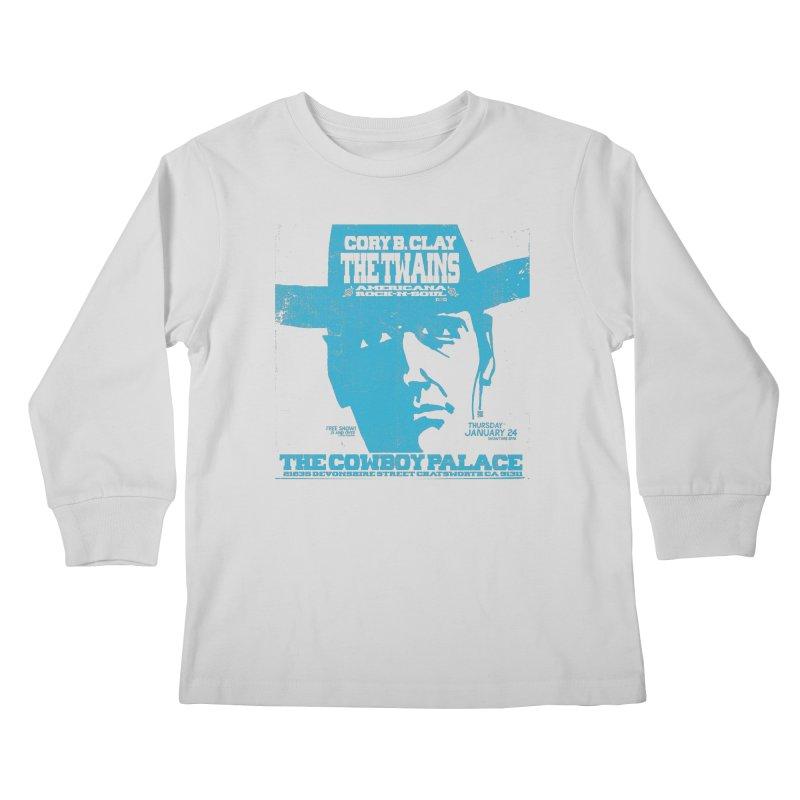 Twains Cowboy Palace Kids Longsleeve T-Shirt by The Twains' Artist Shop