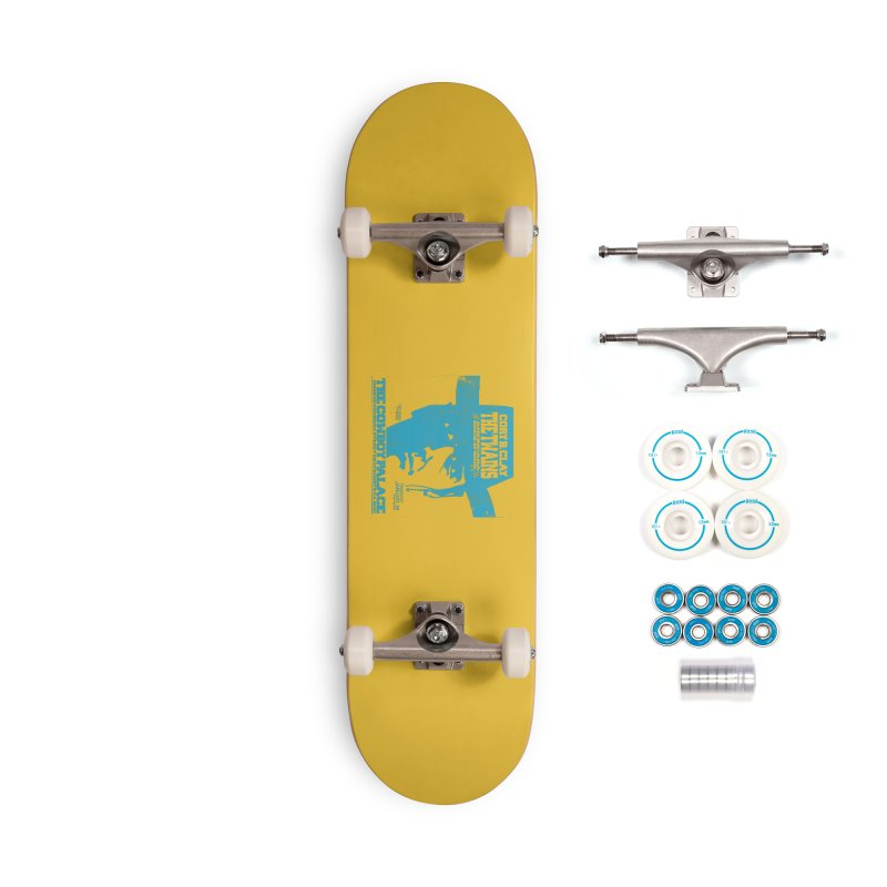 Twains Cowboy Palace Accessories Skateboard by The Twains' Artist Shop