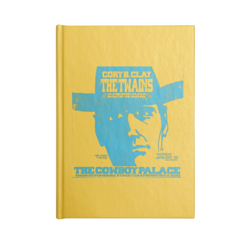 Twains Cowboy Palace Accessories Notebook by The Twains' Artist Shop