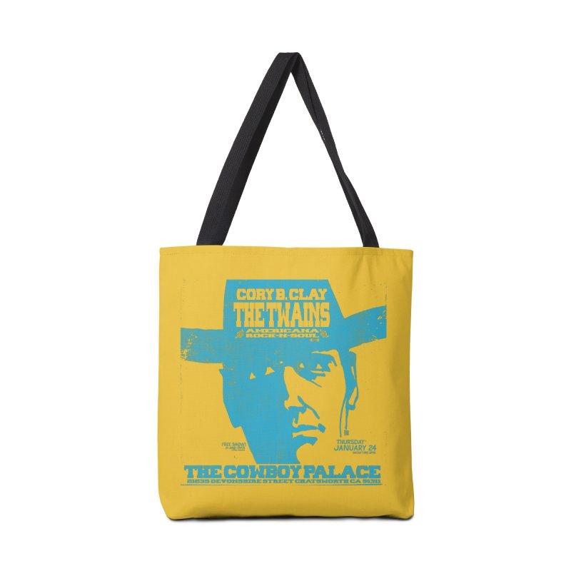Twains Cowboy Palace Accessories Bag by The Twains' Artist Shop