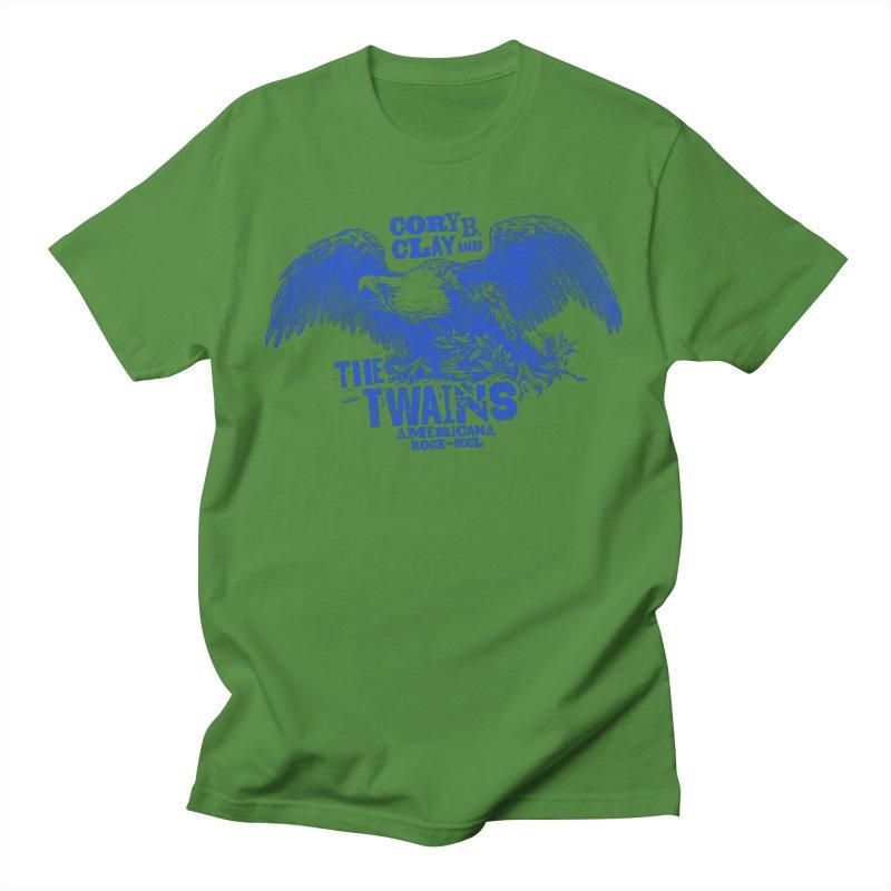 Twains CD American Eagle Men's T-Shirt by The Twains' Artist Shop