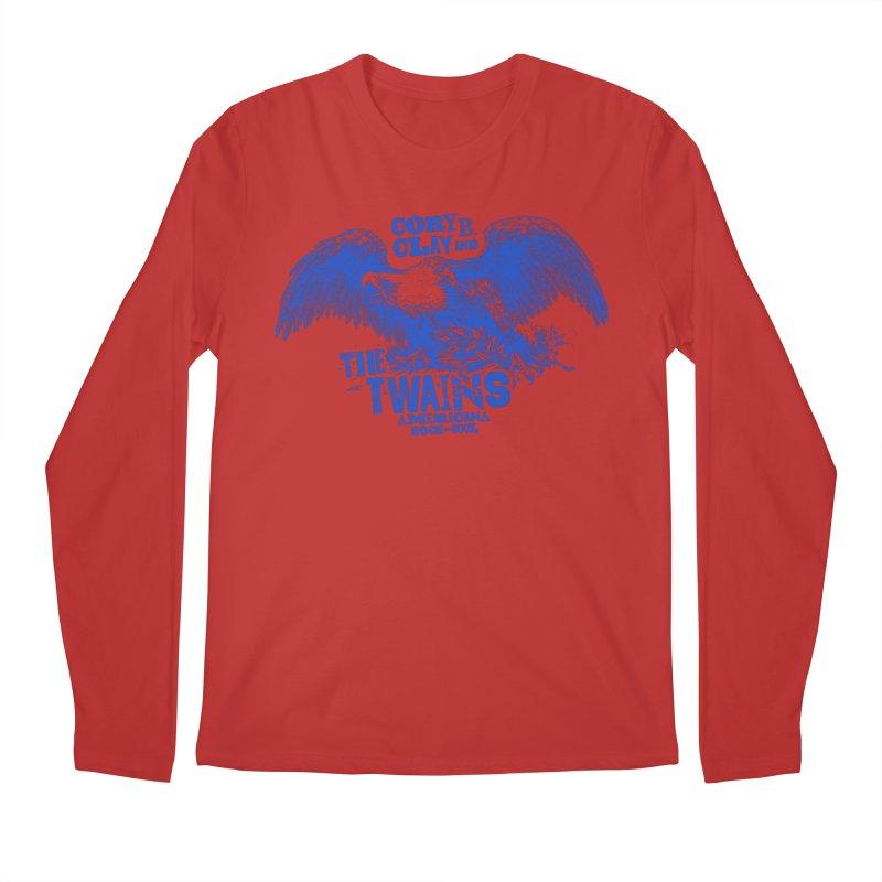 Twains CD American Eagle Men's Longsleeve T-Shirt by The Twains' Artist Shop