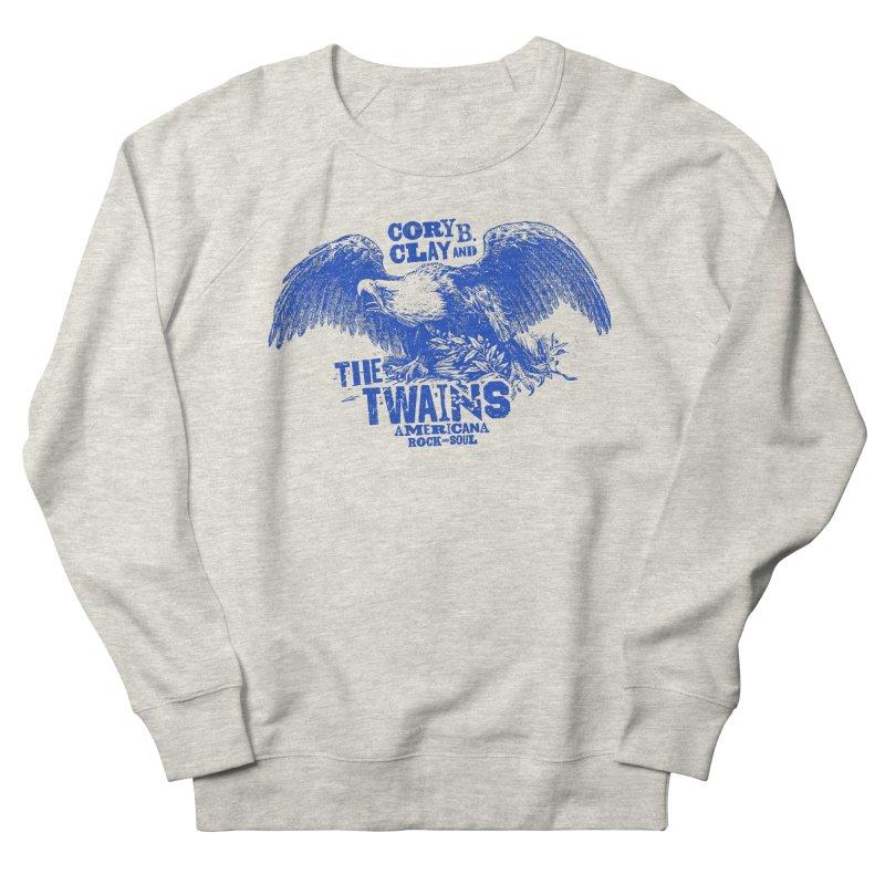 Twains CD American Eagle Men's Sweatshirt by The Twains' Artist Shop