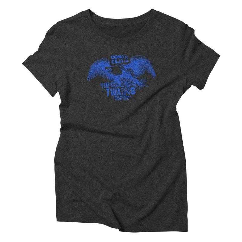 Twains CD American Eagle Women's T-Shirt by The Twains' Artist Shop
