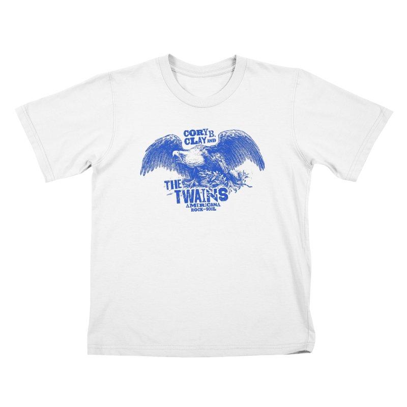 Twains CD American Eagle Kids T-Shirt by The Twains' Artist Shop