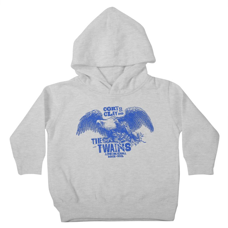 Twains CD American Eagle Kids Toddler Pullover Hoody by The Twains' Artist Shop