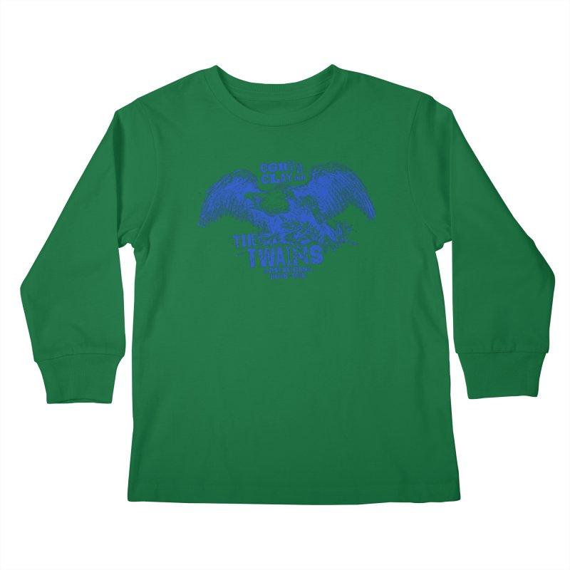 Twains CD American Eagle Kids Longsleeve T-Shirt by The Twains' Artist Shop