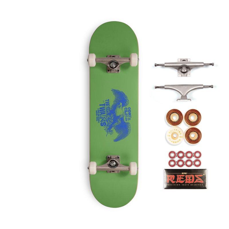 Twains CD American Eagle Accessories Skateboard by The Twains' Artist Shop