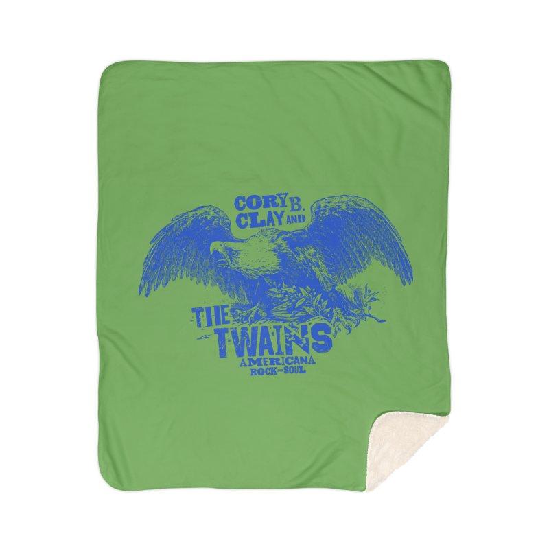 Twains CD American Eagle Home Blanket by The Twains' Artist Shop