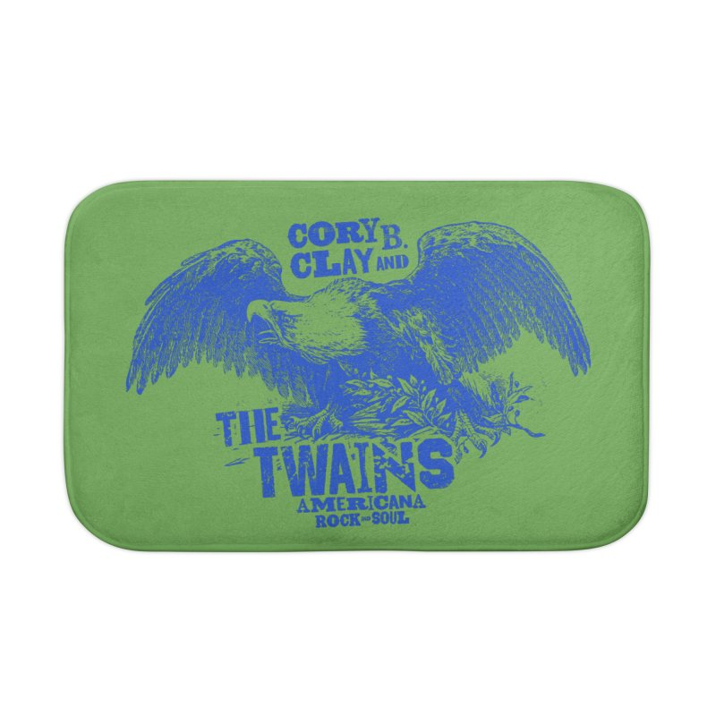 Twains CD American Eagle Home Bath Mat by The Twains' Artist Shop