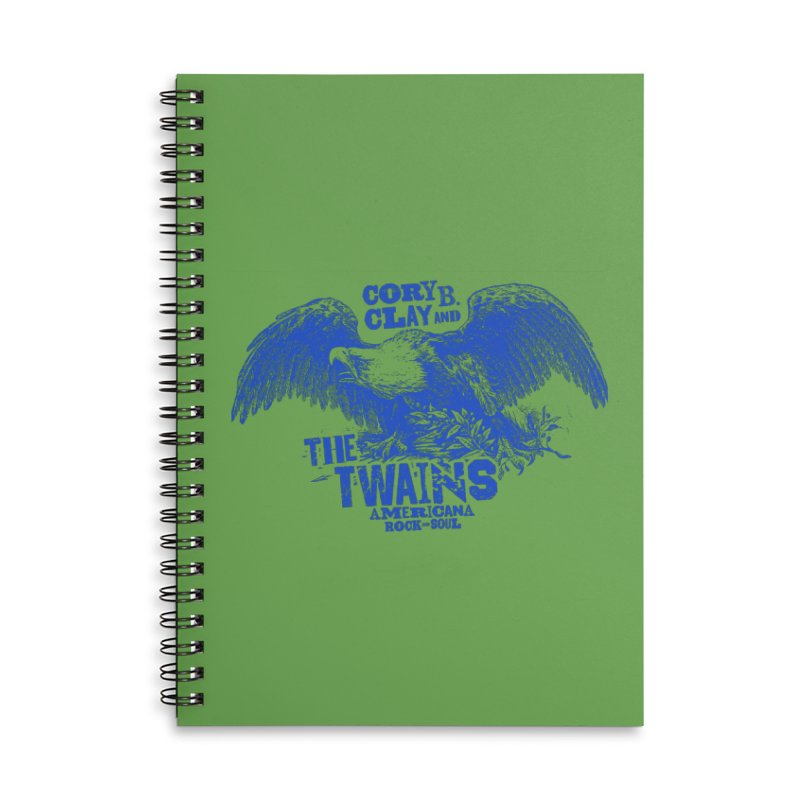 Twains CD American Eagle Accessories Notebook by The Twains' Artist Shop