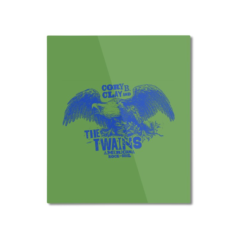 Twains CD American Eagle Home Mounted Aluminum Print by The Twains' Artist Shop
