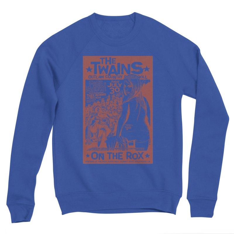 Twains Bikers on the Rox Women's Sweatshirt by The Twains' Artist Shop