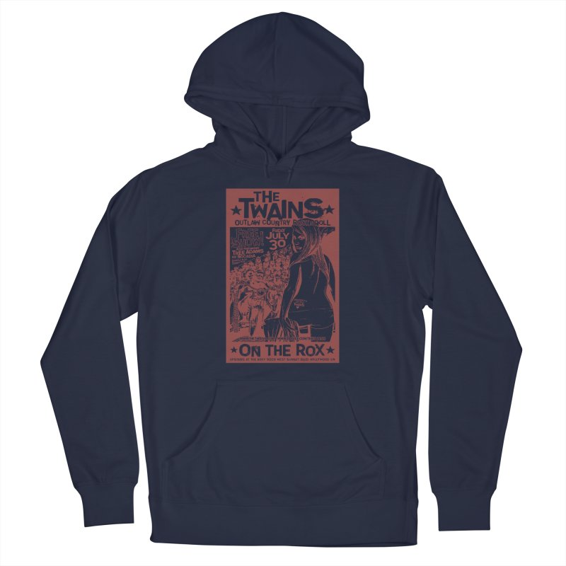 Twains Bikers on the Rox Men's Pullover Hoody by The Twains' Artist Shop