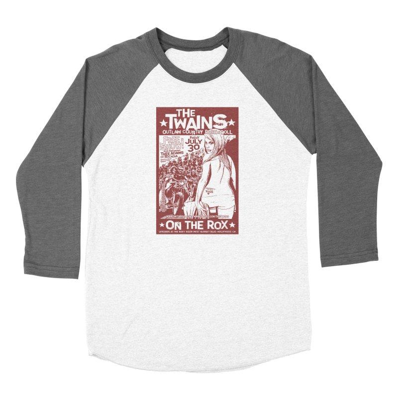 Twains Bikers on the Rox Women's Longsleeve T-Shirt by The Twains' Artist Shop