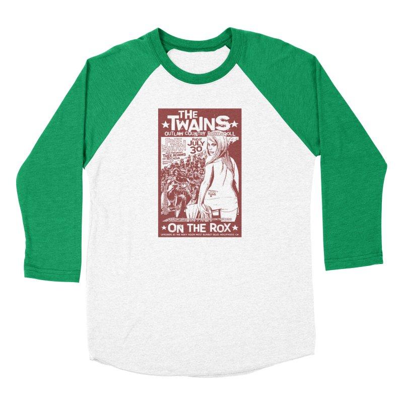 Twains Bikers on the Rox Men's Longsleeve T-Shirt by The Twains' Artist Shop