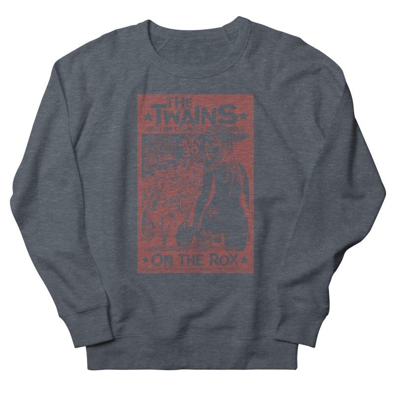 Twains Bikers on the Rox Men's Sweatshirt by The Twains' Artist Shop