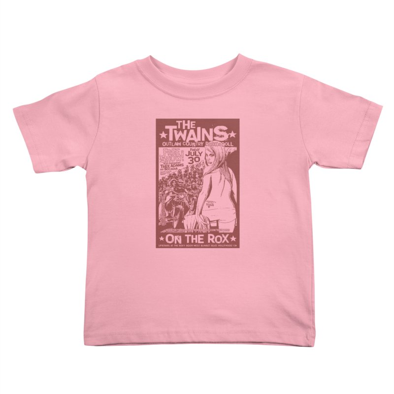 Twains Bikers on the Rox Kids Toddler T-Shirt by The Twains' Artist Shop