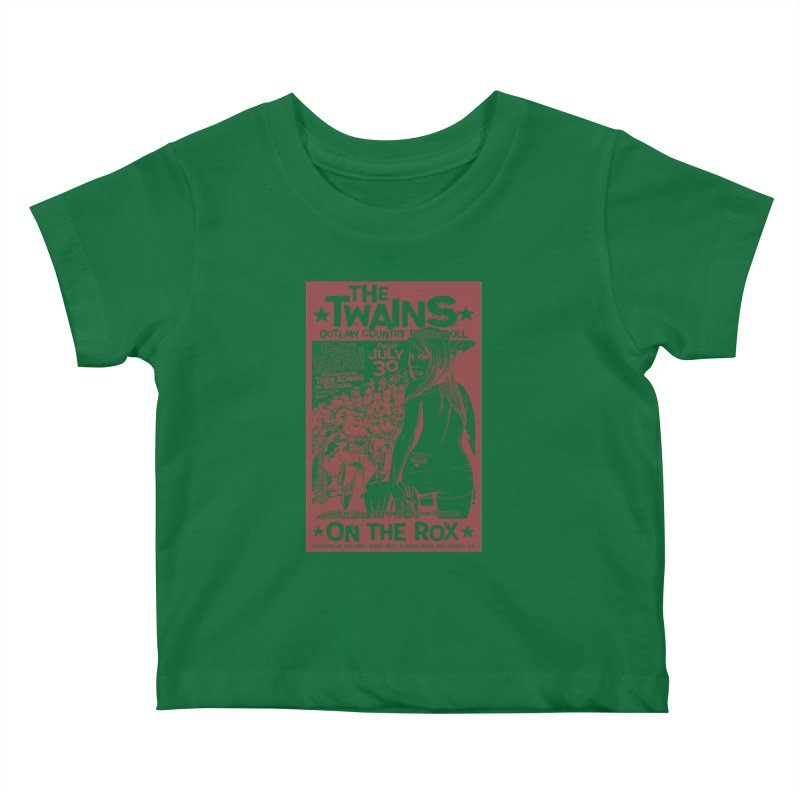 Twains Bikers on the Rox Kids Baby T-Shirt by The Twains' Artist Shop