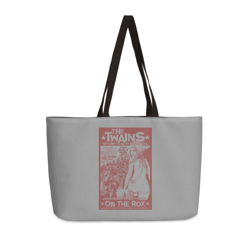 Twains Bikers on the Rox Accessories Bag by The Twains' Artist Shop