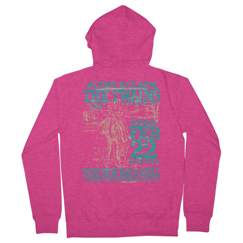 Twains Surfside on the Trail Too Women's Zip-Up Hoody by The Twains' Artist Shop