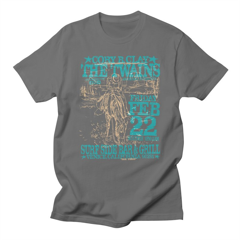Twains Surfside on the Trail Too Men's T-Shirt by The Twains' Artist Shop
