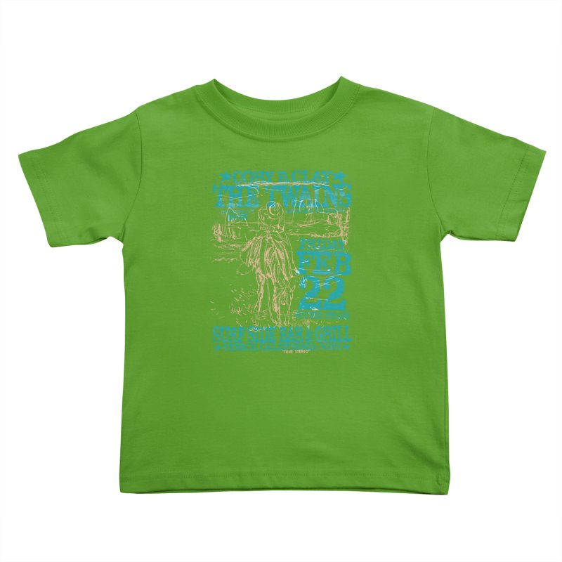 Twains Surfside on the Trail Too Kids Toddler T-Shirt by The Twains' Artist Shop