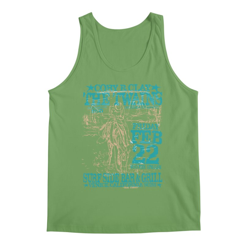 Twains Surfside on the Trail Too Men's Tank by The Twains' Artist Shop